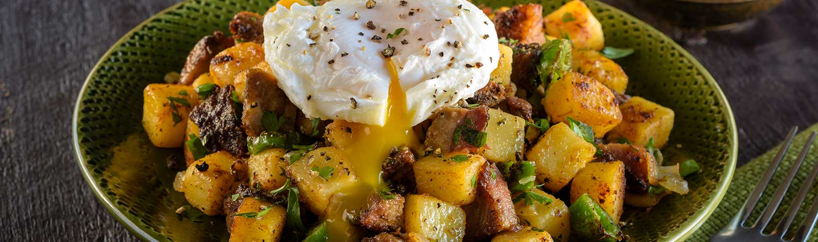 Beef Brisket Hash with Yukon Potatoes