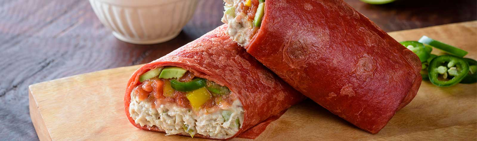 Mexican Tuna Salad Wrap