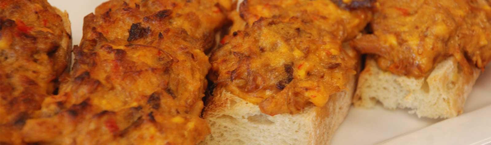 Pimento Cheese Bruschetta