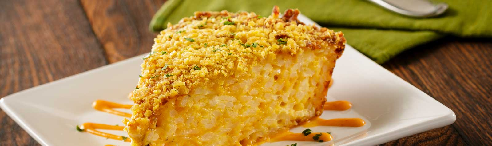 Shredded Potato & Cheddar Casserole