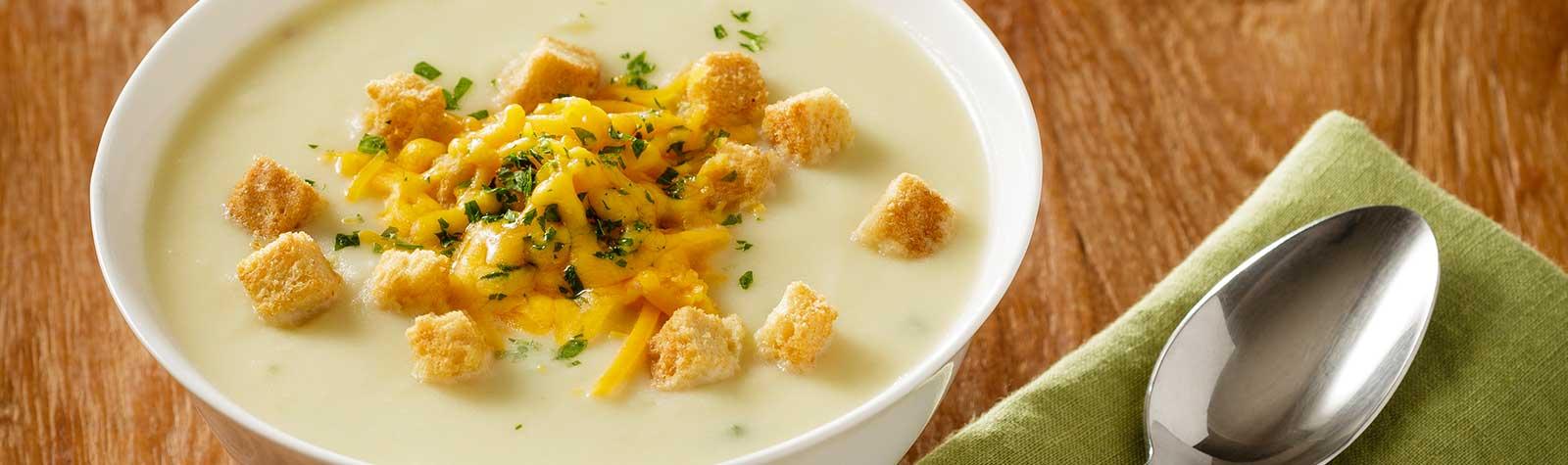 Potato-Cheddar Ale Soup