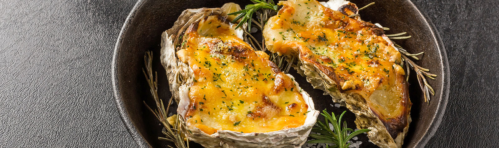 Baked Oysters Gratin