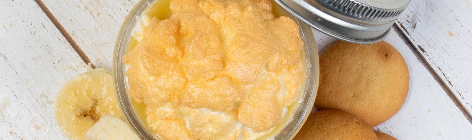 Southern Style Baked Banana Pudding